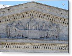 Jefferson Memorial - Washington Dc - 01133 Acrylic Print by DC Photographer