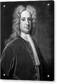 Jeremiah Gridley (1701-1767) Acrylic Print by Granger
