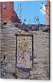 Jerome Arizona - Ruins - 02 Acrylic Print by Gregory Dyer