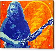 Jerry Garcia Acrylic Print by Doran Connell
