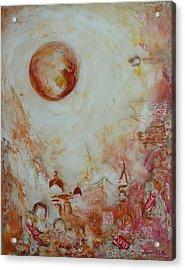 Jerusalem Coca And Roll Acrylic Print by Hanna Fluk