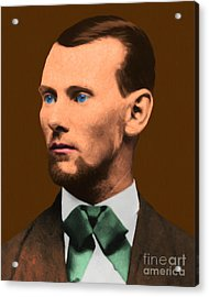 Jesse James 20130515 Acrylic Print by Wingsdomain Art and Photography