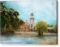 Jesuit Block And Estancias Of Cordoba Acrylic Print by Catf