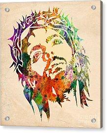 Jesus Christ 3 Acrylic Print by Mark Ashkenazi
