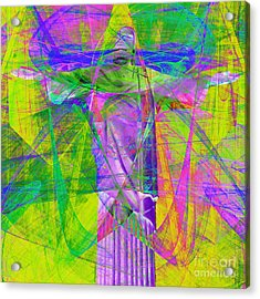 Jesus Christ Superstar 20130617p32 Square Acrylic Print by Wingsdomain Art and Photography