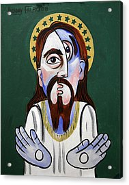 Jesus Christ Superstar Acrylic Print by Anthony Falbo