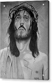 Jesus Of Nazareth Acrylic Print by Subhash Mathew