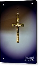 Jesus On The Cross 2 Acrylic Print by Paul Ward