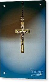 Jesus On The Cross 4 Acrylic Print by Paul Ward