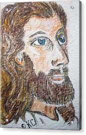 Jesus Our Saviour Acrylic Print by Kathy Marrs Chandler