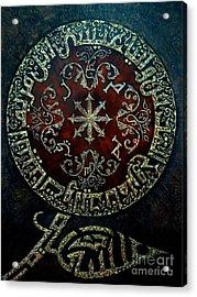 Jesus Son Of Mary Acrylic Print by Najeeb Alnasser