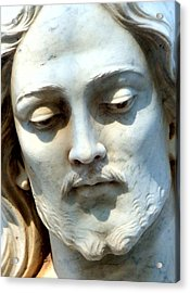 Jesus Statue Acrylic Print by David G Paul