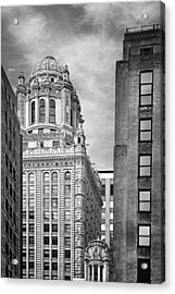 Jewelers' Building - 35 East Wacker Chicago Acrylic Print by Christine Till