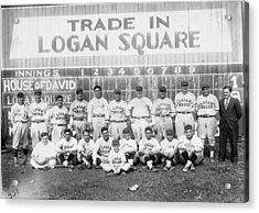Logan Squares Semi-pro  Acrylic Print by Retro Images Archive