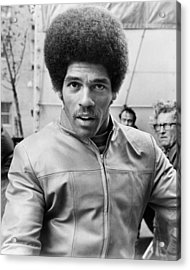 Jim Kelly Acrylic Print by Silver Screen