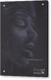 Jimi Hendrix 2 Acrylic Print by Natalie Rogers