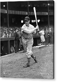 Jimmie Foxx Red Sox Batting Acrylic Print by Retro Images Archive