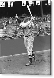 Jimmie Foxx Red Sox Acrylic Print by Retro Images Archive