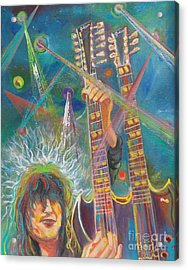 Jimmy Page Acrylic Print by To-Tam Gerwe