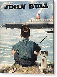 John Bull 1946 1940s Uk Nautical Acrylic Print by The Advertising Archives