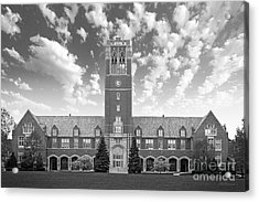 John Carroll University Administration Building Acrylic Print by University Icons
