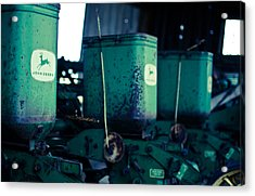 John Deere Acrylic Print by Off The Beaten Path Photography - Andrew Alexander