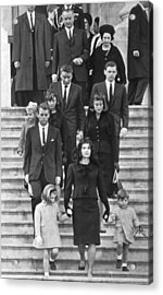 John F. Kennedy Funeral Acrylic Print by Underwood Archives
