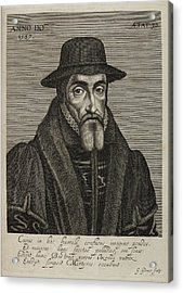 John Foxe Acrylic Print by British Library
