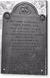 John Howland Acrylic Print by Janice Drew