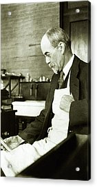 John Jacob Abel Acrylic Print by National Library Of Medicine
