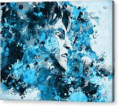 John Lennon 5 Acrylic Print by Bekim Art