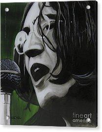 John Lennon Acrylic Print by Betta Artusi