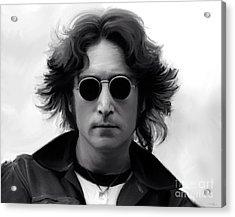 John Lennon Acrylic Print by Paul Tagliamonte