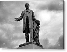 John W Thomas Statue Acrylic Print by Dan Sproul