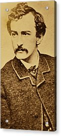 John Wilkes Booth Acrylic Print by Anonymous