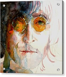 John Winston Lennon Acrylic Print by Paul Lovering