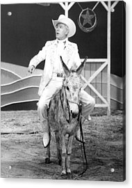 Johnny Carson In The Tonight Show Starring Johnny Carson  Acrylic Print by Silver Screen
