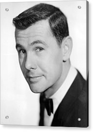 Johnny Carson Acrylic Print by Silver Screen