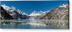 Johns Hopkins Glacier In Glacier Bay Acrylic Print by Panoramic Images