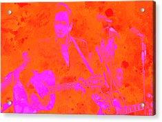 Johny Cash 3 Acrylic Print by Brian Reaves