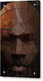 Jordan Acrylic Print by Daniel Hapi