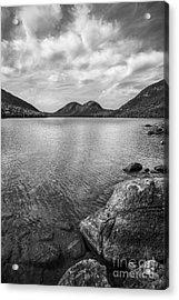 Jordan Pond Acadia National Park Maine. Acrylic Print by Diane Diederich