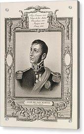 Jose De San Martin Acrylic Print by British Library