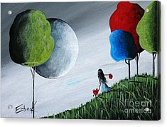Journey Home By Shawna Erback Acrylic Print by Shawna Erback