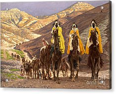 Journey Of The Magi Acrylic Print by Tissot