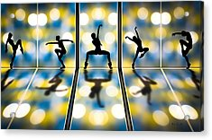 Joy Of Movement Acrylic Print by Bob Orsillo