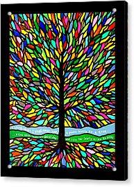 Joyce Kilmer's Tree Acrylic Print by Jim Harris