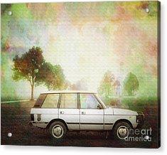 Joys Of Refined Motoring  Acrylic Print by Edmund Nagele