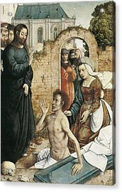 Juan De Flandes  -1519. The Acrylic Print by Everett
