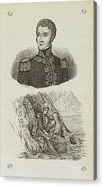 Juan Jose Carrera Acrylic Print by British Library